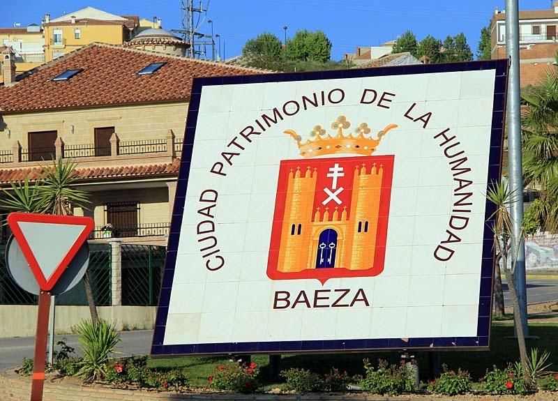 Två nätter tillbringades i världsarvstaden Baeza.