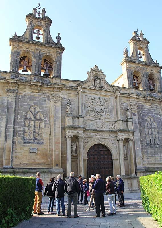 Kyrkan Santa María ersatte den tidigare statsmuren i Úbeda.