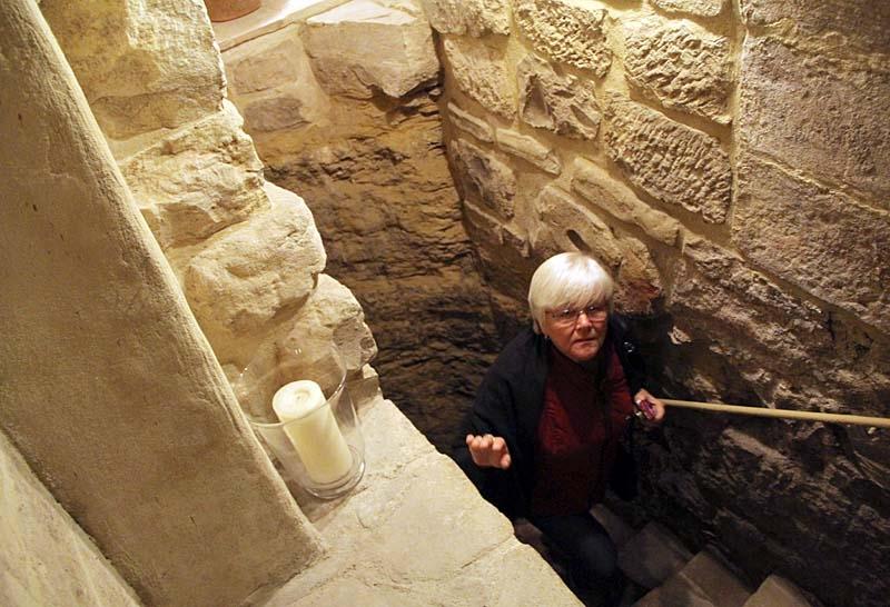 Ann-Sofi Frånberg återvänder från underjorden.
