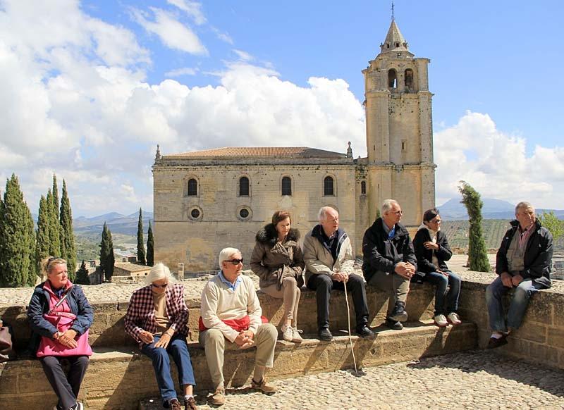 Den enorma fästningen inrymde en hel medeltidsstad, med omkring 400 innevånare.