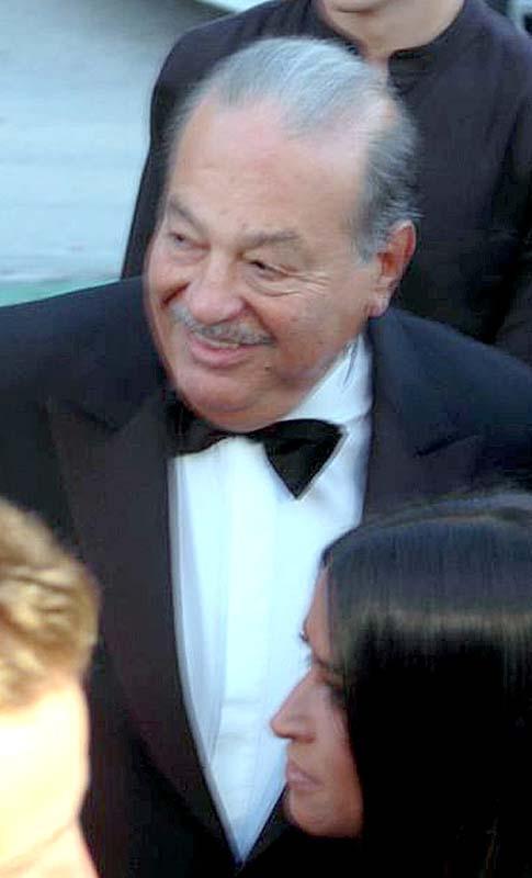 Världens rikaste man Carlos Slim var kameraskygg, men Sydkusten fick en bild.
