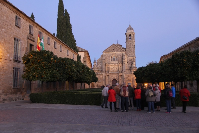 Foto från Sydkustens tredje resa till Jaénprovinsen, i samband med olivskörden 2014. ÚBEDA Fotograf: Richard Björkman
