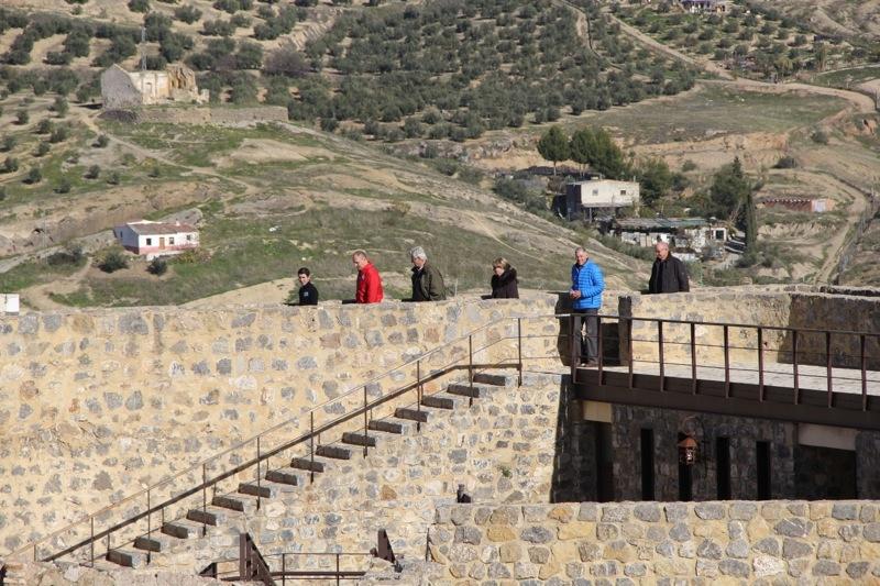 Foto från Sydkustens tredje resa till Jaénprovinsen, i samband med olivskörden 2014. CASTILLO DE CALATRAVO (ALCAUDETE) Fotograf: Richard Björkman