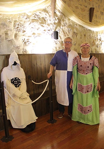 Besök i Castillo de Alcuadete med medeltidslunch. Foto: Richard Björkman