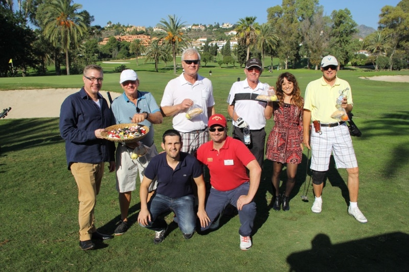 SK Golf arrangerade 10 november 2015 slaggolf på El Paraiso, i Estepona.