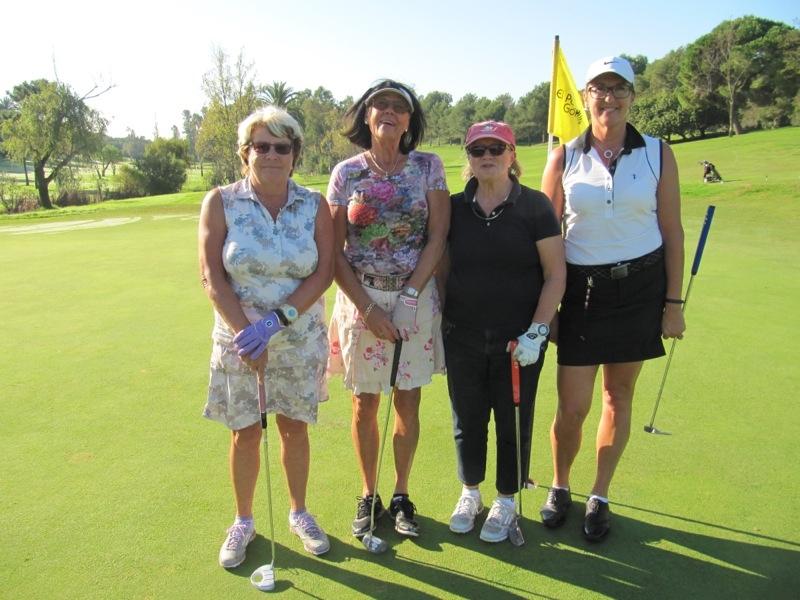 SK Golf arrangerade 10 november 2015 slaggolf på El Paraiso, i Estepona.