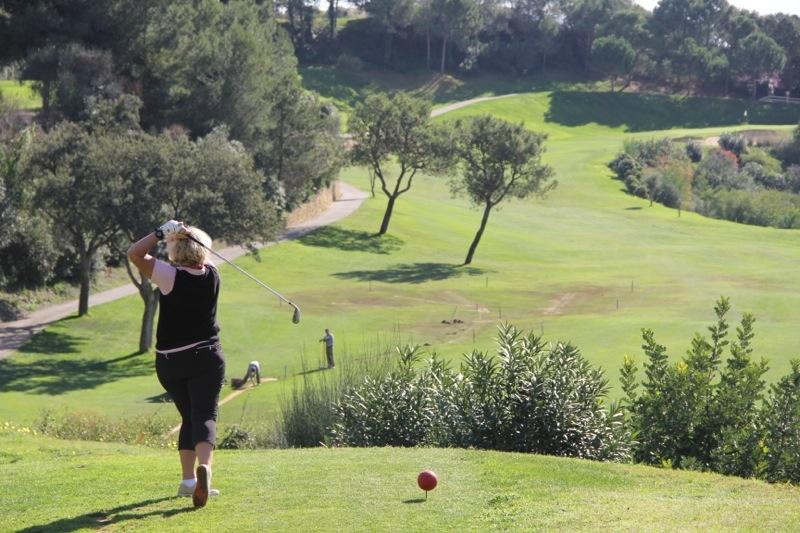 Foto från SK Golf, parspel scramble på Los Arqueros Golf 27 januari 2016.