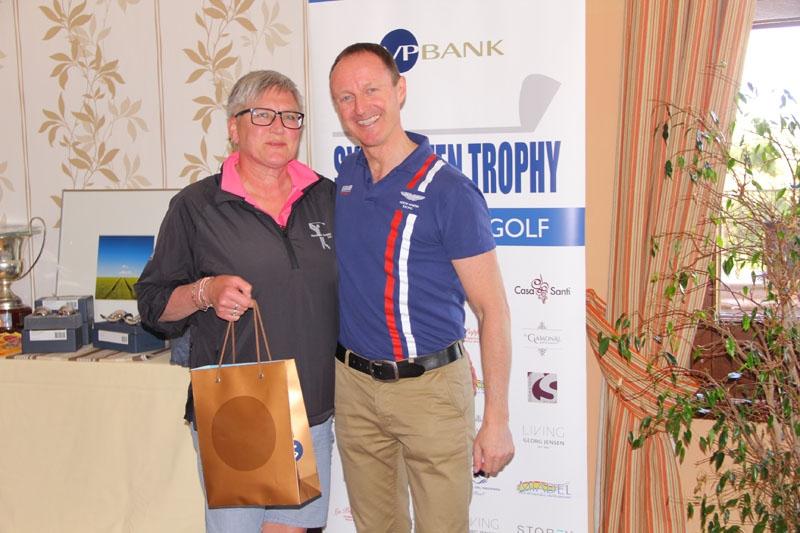 Gunilla H. Nilsson vann VP Banks lottpris.