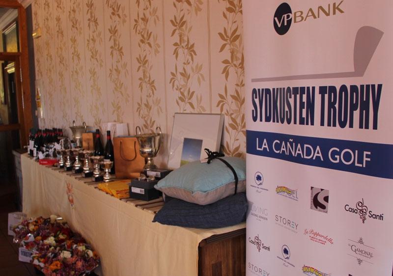 Det fantastiska prisbordet backades upp av gedigna sponsorer.