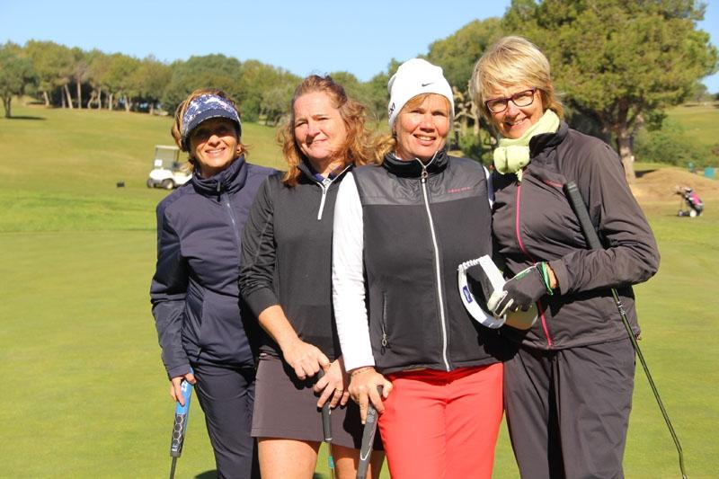 Inger-Anne Berge, Marianne Mårtensson, Anna Edström och Ulla Sallnäs.