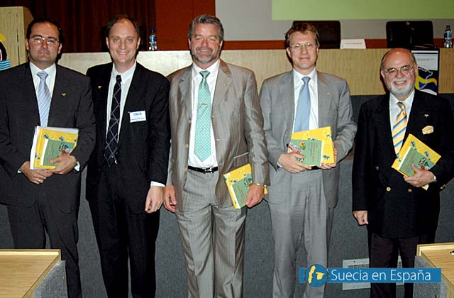 SV: Fredagens talare bjöd på varierade ämnen om svensk företagsamhet.<br /><br />ESP: Los conferenciantes del Viernes trataron diversos temas del espíritu empresarial sueco.