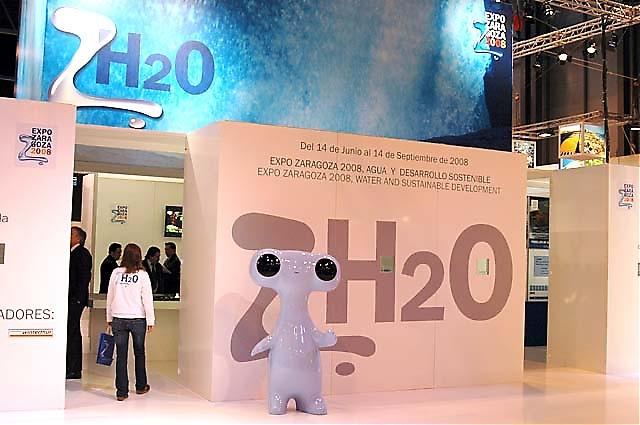 Zaragoza har redan börjat marknadsföra sin världsutställning, med vatten som huvudtema.