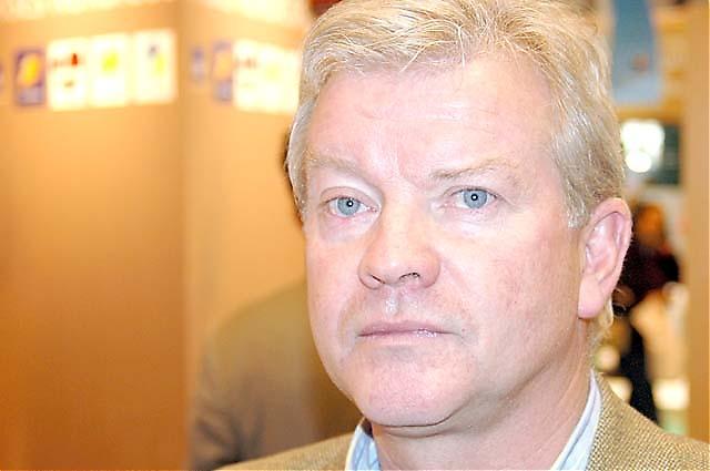 Åke Olofsson från Taylor Woodrow besöker mässan varje år.