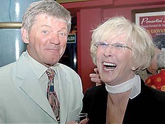 Parnevik och Mona Reinholtsson.