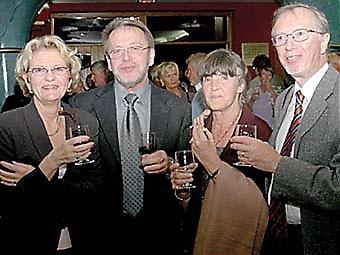 Monica och Per West och Iréne och Hans Eckervik.