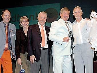 Torkel Allgulin hade lyckan att vinna en ibéricoskinka.