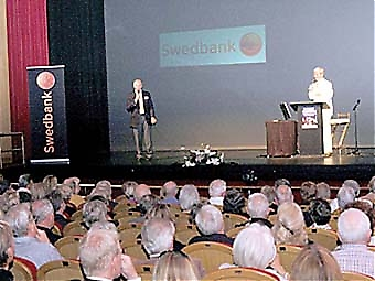 Swedbank sponsrade evenemanget i Marbella.