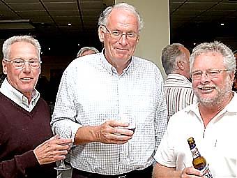 Lars-Erik Olsson, Karl-Axel Kindlund och Göran Åsard.