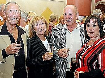 Lennart och Kerstin Rydberg tillsammans med Bruno och Bernadette Nyman.