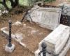 Kyrkogården är både vacker och kuslig på samma gång. Den har farit illa genom åren och saknas resurser för att restaurera och underhålla området ordentligt.