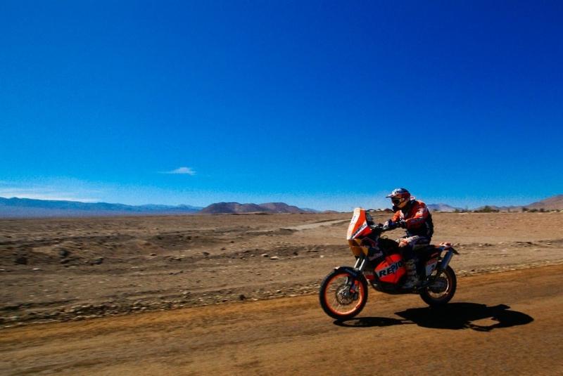 Marc Coma säkrade sin fjärde Dakar-titel i motorcykelklassen. Foto: Alex Fuentes