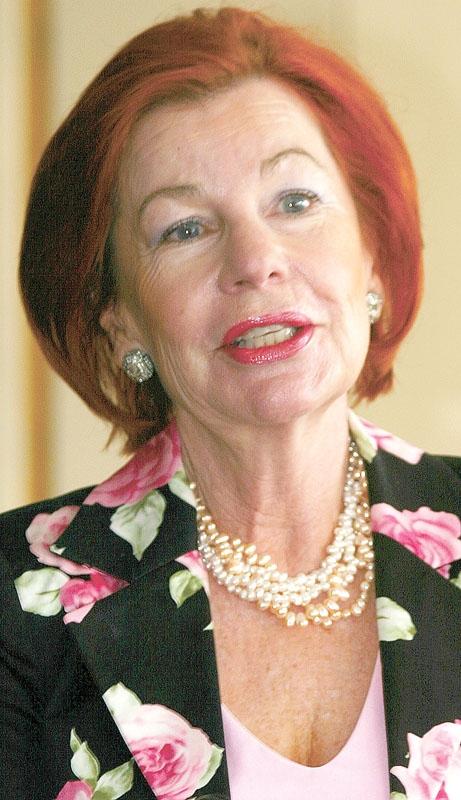 Karin Ehnbom-Palmquist är tidigare ambassadör och i dagsläget ordförande för Svenskar i Världen. Foto: SVIV