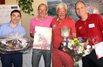 Det blev storslam 7 april för Ulf Ekström, som både vann finalen i A-gruppen i Sydkusten Trophy och blev gruppens bäste poängplockare hela säsongen. Han fick ett extra pris i form av en oljemålning som gjorts av motståndaren Jan Sallnäs.