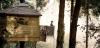 I Cabanes als arbres finns varken elektricitet eller rinnande vatten. Men utsikten är oslagbar. Foto: Cabanas als arbres
