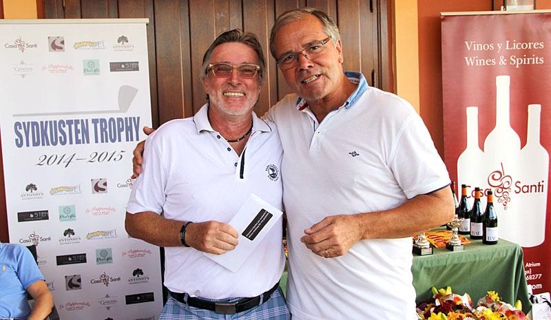 TRE FULLTRÄFFAR Olav Maaland vann inte mindre än tre presentkort till olika restauranger, bland annat Robert Fäldts Antonios, i Esteponas fritidshamn.