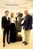 Ägarna till Timeless Gallery Mikael och Joanna Segelström med Svensk-Spanska Handelskammarens delegat i Andalusien Mats Björkman.
