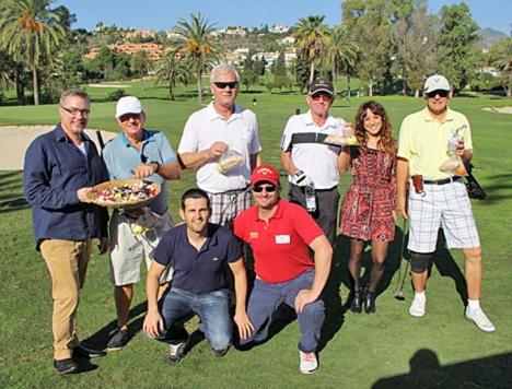 Sponsorerna i den första upplagan av SK Golf såg till att spelarna trivdes, både på och utanför banan.
