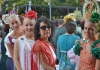 Kulturellt utbyte står högt på agendan. Svenska skolans elever har Luciatåg varje år på rådhustorget i Fuengirola och de deltar även i den årliga ferian. Foto: Arkiv