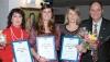 En gång tidigare har Elvira Herrador tagit emot diplomet för Årets Svensk på Costa del Sol, dock i representation av en av de tre elever som fick utmärkelsen 2008.