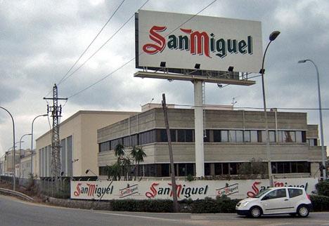 San Miguels fabrik i Málaga byggdes 1966, ungefär samtidigt som de första svenska turisterna kom till Costa del Sol.