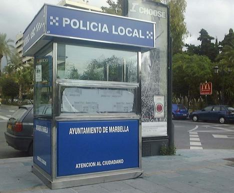 Fyra lokalpoliser ställdes till svars för en belgares död i Marbella 2006.
