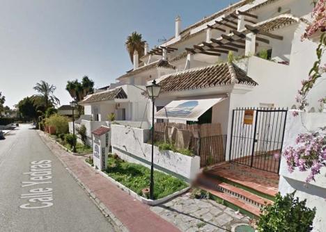 Sammanlagt 24 familjer bodde som ockupanter området Costa Estrella, i Nueva Andalucía. Foto: Google Maps