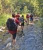 Den som besöker Río Verde måste vara beredd att bli blöt om fötterna. De våta skorna och strumporna blir man snabbt van vid.
