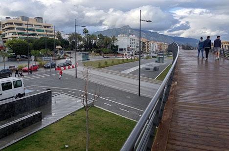 Huvudrondellen vid boulevarden stängdes av bara två dagar efter den senaste dödsolyckan.