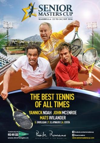 Tennisturnering för nostalgiker i Marbella 22-24 september.