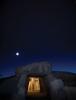 Dolmen de Menga är den äldsta av de tre fornlämningarna och har unika särdrag, som dess mittkolumner, en brunn samt orientering mot bergsmassivet El Torcal. Foto: Javier Pérez González