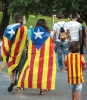 De senaste åren har miljontalas katalaner demonstrerat på nationaldagen 11 september för självständighet. Foto: Sarah Olsson