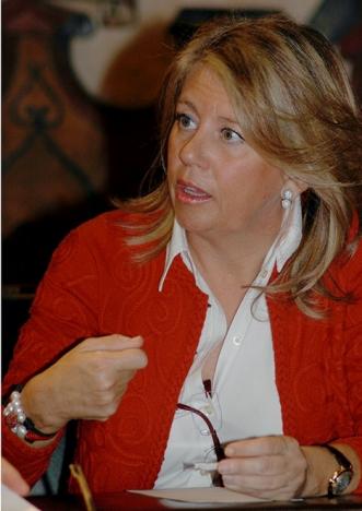 Ángeles Muñoz är i dagsläget senatsledamot och ordförande för Partido Popular i Marbella.