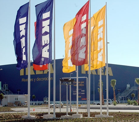 IKEA ökade förra året både sin omsättning och antalet anställda i Spanien.