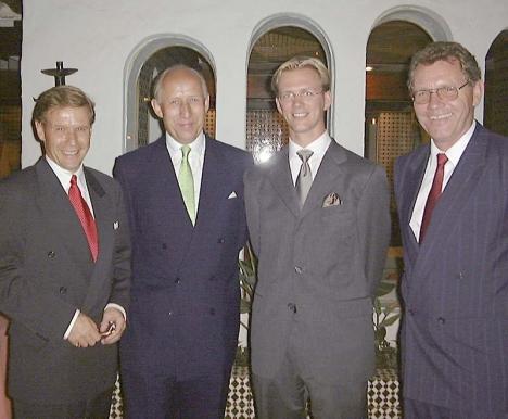 Erik Penser besökte i månadsskiftet september/oktober Marbella med anledning av etableringen av Erik Penser Fondkommission på Costa del Sol.