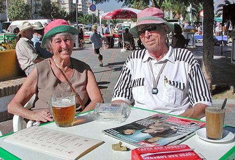 Svensk media föredrar att framhäva en negativ aspekt från en studie som övervägande speglar hur lyckliga svenska pensionärer i Spanien är.
