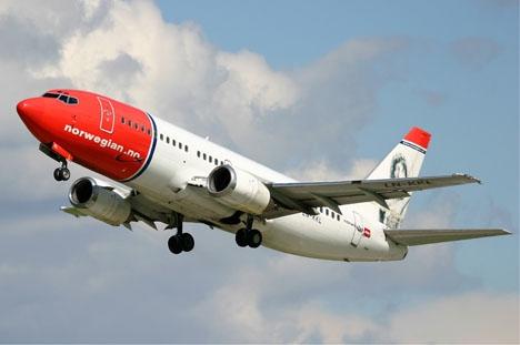 Norwegian är det flygbolag som lyfte mest i Spanien 2016.