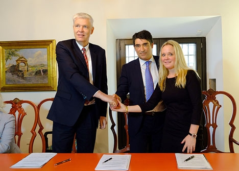 Danska ambassaden i Madrid samarbetar i projektet och Nykredit finansierar det. Foto: Museo Carmen Thyssen