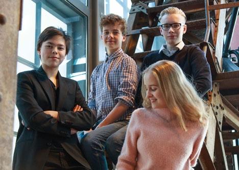 Fyra unga finska pianovirtuoser framför tre konserter på Costa del Sol i mitten av februari.