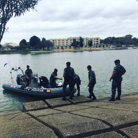 Nya indicier föranleder polisen att åter söka efter Marta del Castillos kropp i Guadalquivirfloden, i Sevilla. Foto: Policia Nacional