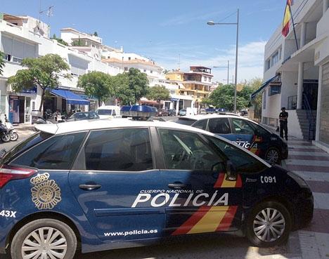 I Marbella steg brottsligheten förra året med hela 17,5 procent.